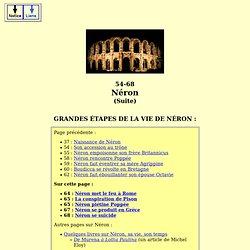 emp romains - néron (L. domitius claudius nero). Suite