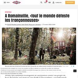 A Romainville, «tout le monde déteste les tronçonneuses»
