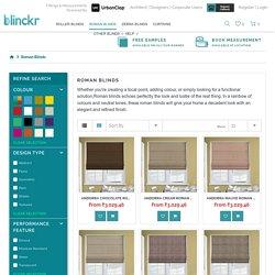 Buy Roman Blinds Online India