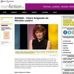 Chère brigande (Nonfiction.fr)