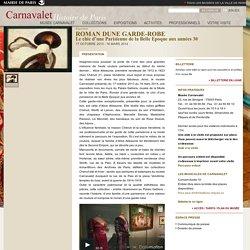 ROMAN D'UNE GARDE-ROBE