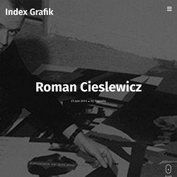 Roman CIESLEWICZ / 1963