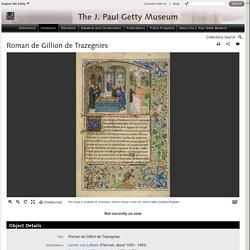 Roman de Gillion de Trazegnies