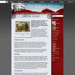 The Roman Empire: Social Order