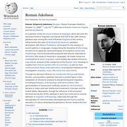 Roman Jakobson - Wikipedia