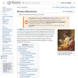 Roman (littérature)