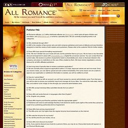 All Romance Ebooks - All the romance you need from the publishers you love.