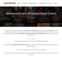 Romance/Erotica Premade Book Covers - Rocking Book Covers