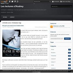 romance - Les lectures d'Audrey