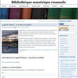 Lagerlöf Selma - Les liens invisibles