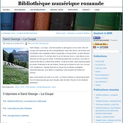 Sand George - La Coupe