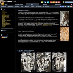 Romanes.com: Bienvenue ! Sculpture romane...