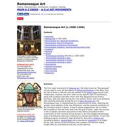 Romanesque Art: History, Characteristics
