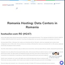 Romania Hosting: Data Centers in Romania