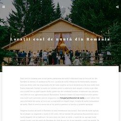 Locații cool de nuntă din România