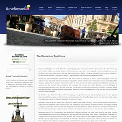 Romanian Traditions - Tours of Romania