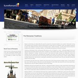 Romanian Traditions - Tours of Romania