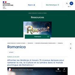Romanica, un jeu vidéo amusant