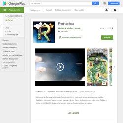 Romanica – Applications sur GooglePlay