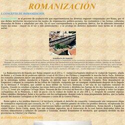 ROMANIZACIÓN: Hispania
