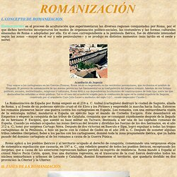 ROMANIZACIÓN: Hispania