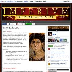 Romano Impero: LA DONNA ROMANA