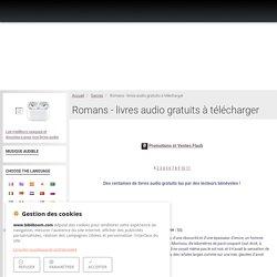 Romans - livres audio gratuits à télécharger