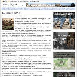 Romans-sur-Isère - Les pionniers du Québec