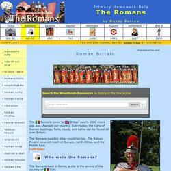 Romans for Kids - Homework help
