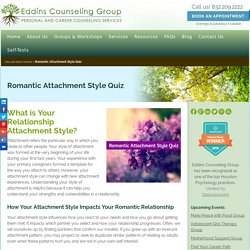 Romantic Attachment Style Quiz - Eddins Counseling – Houston