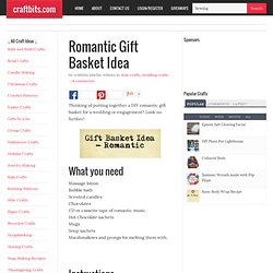 Romantic Gift Basket Idea