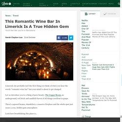This Romantic Wine Bar In Limerick Is A True Hidden Gem