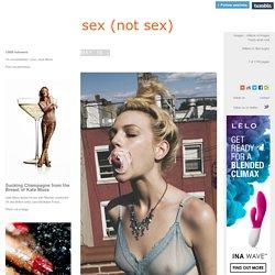 sex (not sex)