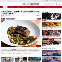 Most Romantic Restaurants in NYC: Best Date Ideas
