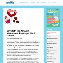 Romantic Valentine Scavenger Hunt Ideas for Couples