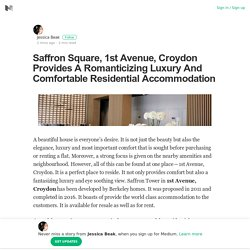Saffron Square, 1st Avenue, Croydon Provides A Romanticizing Luxury And Comfortable Residential Accommodation