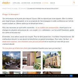 Week-end romantique : 12 chambres avec jacuzzi privé