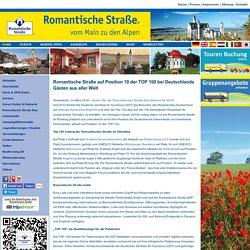 Romantische Straße Deutschland -Urlaubsziele von Würzburg bis Füssen