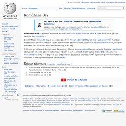 Arr petit fils Romdhane Bey assassiné en 1699