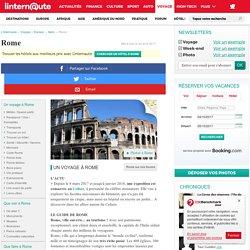 Rome, le guide : Tourisme en Italie