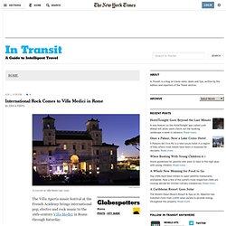 ROME - In Transit Blog