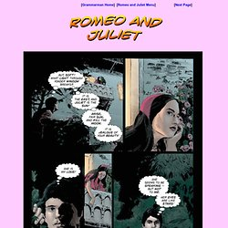 Romeo and Juliet Comic