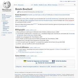 Roméo Bouchard
