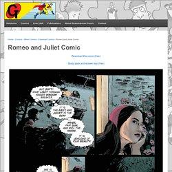 Romeo and Juliet Comic - Grammarman