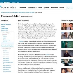 Romeo and Juliet: Plot Overview