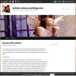 Roméo kiffe Juliette - juliette-romeo.overblog.com