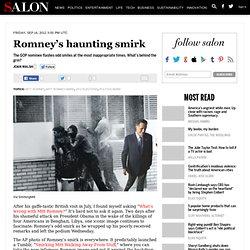 Romney's haunting smirk