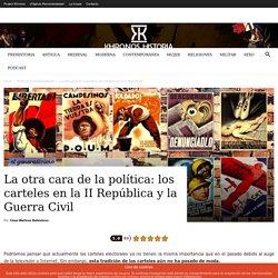 Los rompedores carteles electorales de la II República y la Guerra Civil