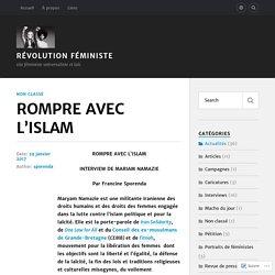 ROMPRE AVEC L'ISLAM – Révolution Féministe