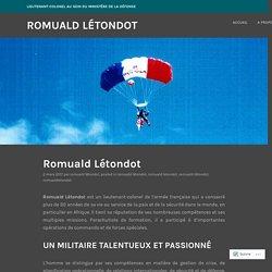 Romuald Létondot – Romuald Létondot